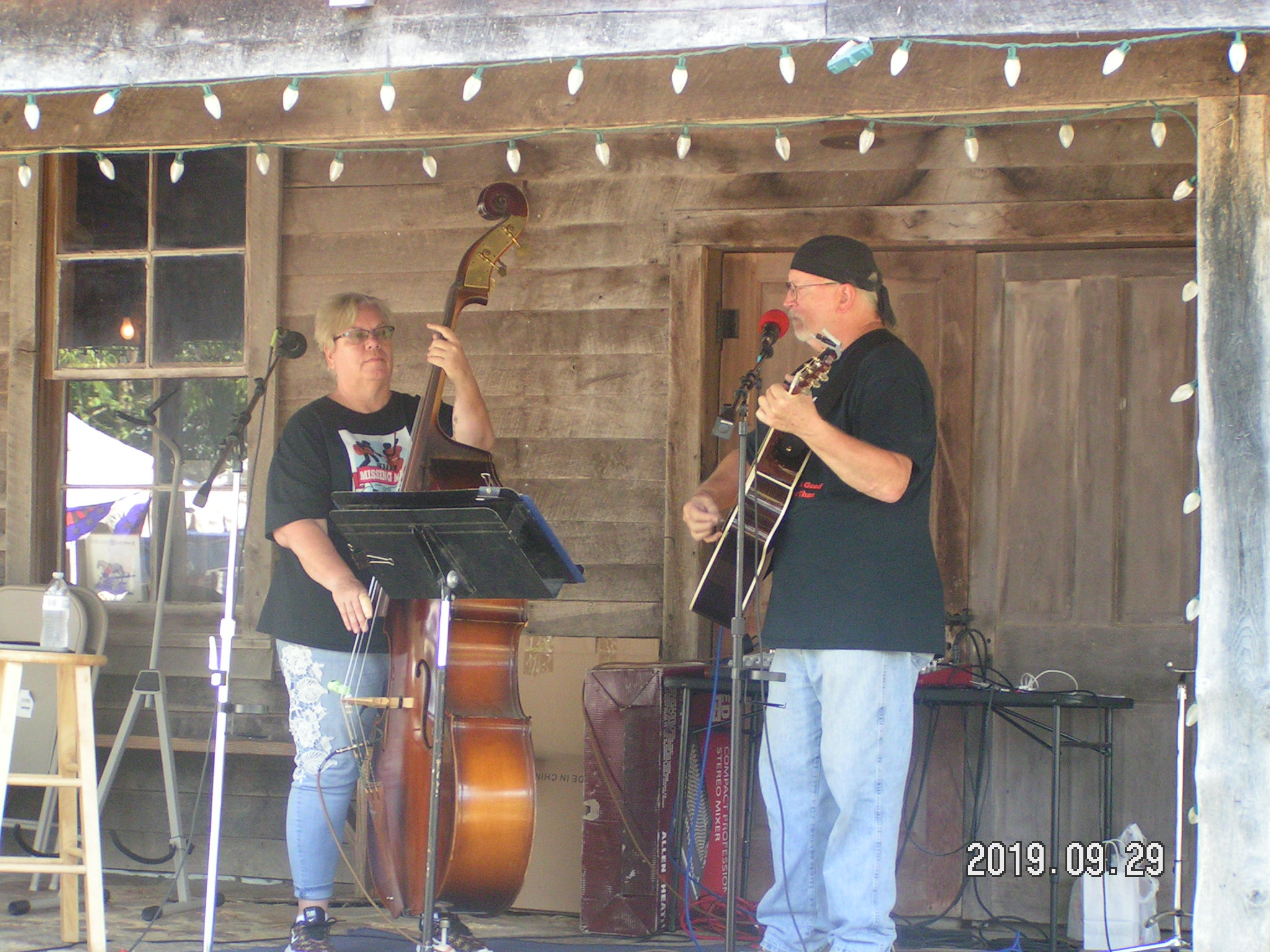Missing Man Trio performing at the Mill